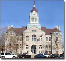 Lawrence County Courthouse located in Mt. Vernon, MO